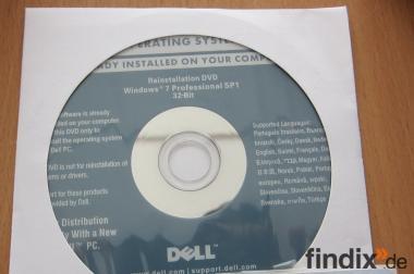 NEU Windows 7 Professional 32-Bit Dell OEM-Version Deutsch
