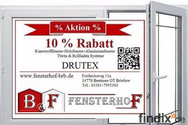 Neue Fenster,Türen & Rollläden von Drutex