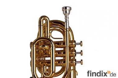Neue Malte Burba Profi - Pocket Trompete in B von Kühnl & Hoyer