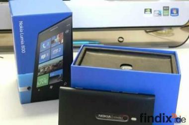 Nokia  Lumia 800 + Rechnung! Schwarz- mit Original Karton