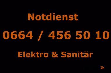 Notdienst 7x24 Sanitär- und Elektronotdienst