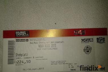 nova rock 3 tages VIP festivalpass