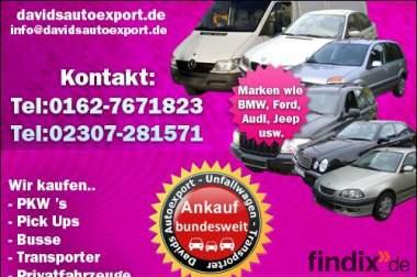 NRW Autoankauf VW Dortmund - Autohändler Dortmund sucht Fahrzeuge