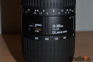Objektiv Sigma DL Macro Super 70-300mm 1:4-5.6