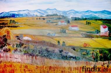 Öl auf Leinwand - Replica von Vincent Van Gogh