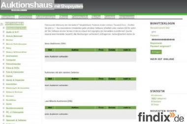 Online-Auktionshaus abzugeben