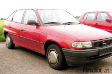 Opel Astra 1,7 TurboDiesel, gebraucht