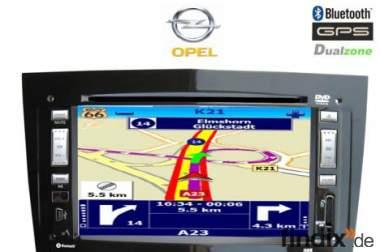 OPEL Astra Vectra Zafira GPS Multimedia Nachrüst Autoradio