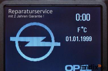 Opel CID Display Navi-Display Reparatur