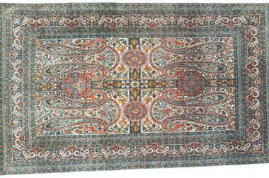 Orientteppich Hereke Seide alt (T011)