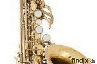 Orig. Antigua Deluxe gebogenes Sopransaxophon in Bb inkl. Koffer,
