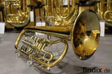 Orig. Miraphone Konzert - Flügelhorn mit Kariso Koffer