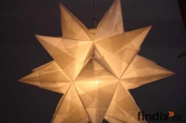 Origami Stern Lampe