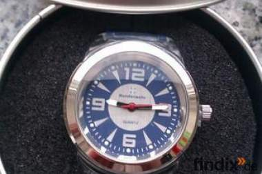 Original Bundeswehr Uhr inkl. Metall-Case, NEU