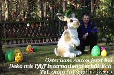 Osterhase Anton für Ihren Garten ...