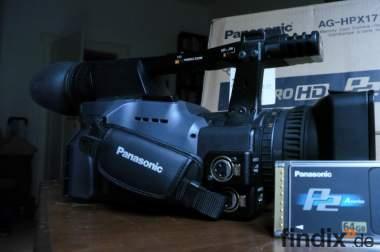 Panasonic AG-HPX171E HD Camcorder + 64GB P2 Card