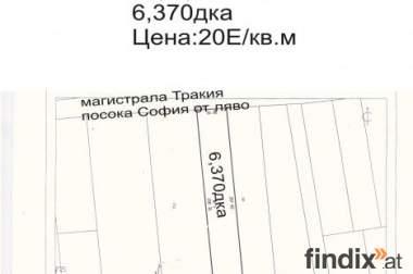 Parzel Autoban Trakia,Richtung Sofia,LInke Seite