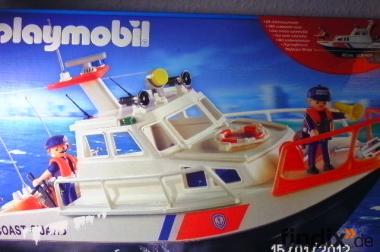 Playmobil Küstenwachboot