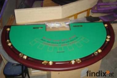 Pokertisch Blackjacktische Roulette Casinoequipment