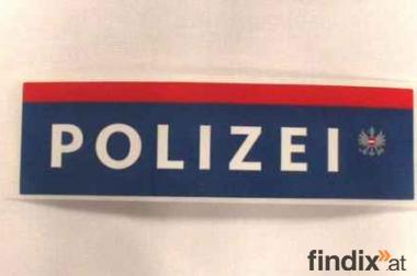 Polizeipickerl, 10,5 x 3 cm, selbstklebend 10 Stück