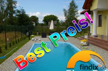 Pool, Swimming Pool, Fertigbecken 7,10 x3,10 x1,55, Gfk Becken