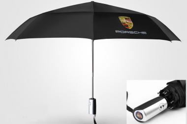 porsche auto fan regenschirm automatik taschenschirm 905413. Black Bedroom Furniture Sets. Home Design Ideas
