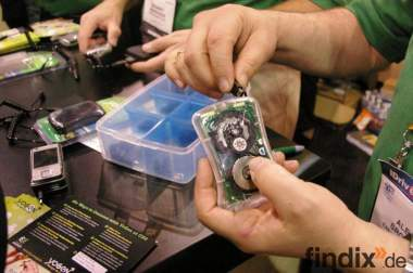 Portables Ladegerät für Handy und MP3-Player