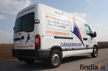PRILINE Pritschen & VAN Mieten Transportervermietung