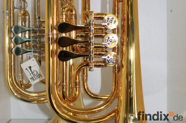 Professionelle Basstrompete in Bb. Melton 129 GL. Einzelanfertig.