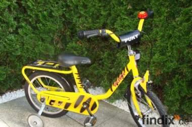 Puky Fahrrad Tigerente 16 Zoll Kinderfahrrad Unisex wie Neu.