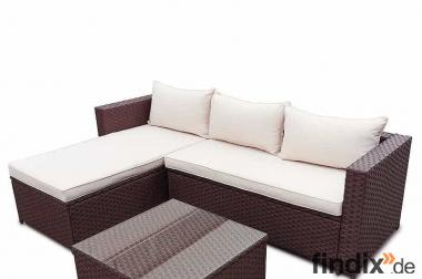 Rattan Gartenmöbel Gartenset Sitzgruppe Garnitur Lounge Sofa NEU!