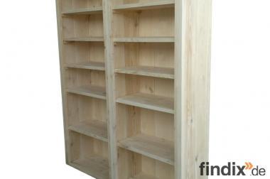 Regal/Schrank aus neuem Bauholz