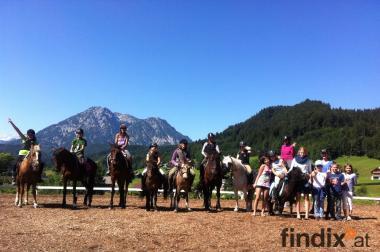 Reiterferien für Kinder & Jugentliche im wunderschönen Altaussee