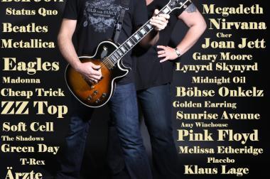 Rock Musiker für Geburtstag Hochzeit Konzert Verein Firma Betrieb
