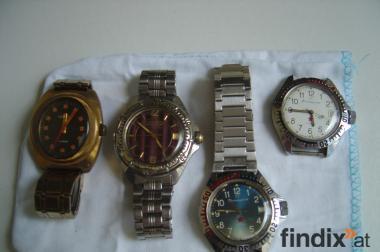 Russische Armbanduhren