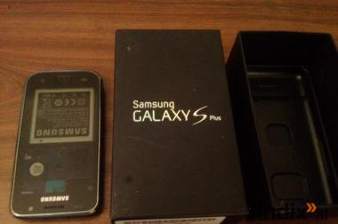 Samsung Galaxy S Plus Defekt + OVP