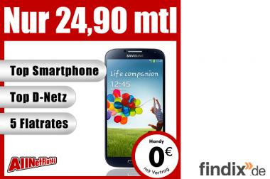 Samsung Galaxy S4 S IV GT-I9505 - mit Vertrag nur 24,90 € mtl.