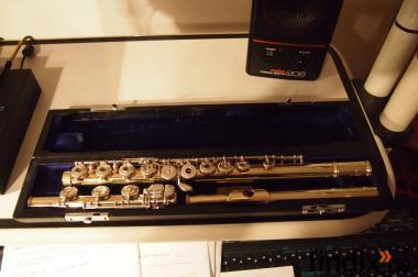 Sankyo 14Kt Gelbgold-Flöte