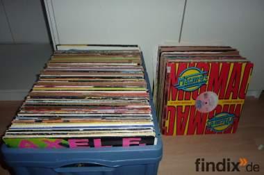 Schallplatten Sammlung 196 Stück LP und Maxis aus den 80er und 90