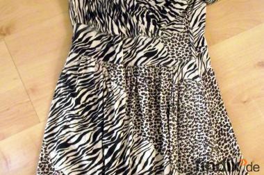 Schickes beige/braunes Kleid Gr.S