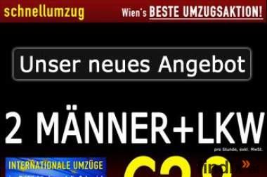 Schnellumzug: Ihr Umzugs- & Transportservice im Raum Wien