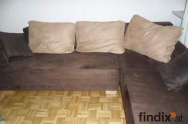 Schöne braune Couch zu verkaufen