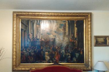 Schöne Gemälde aus dem 19. Jahrhundert.
