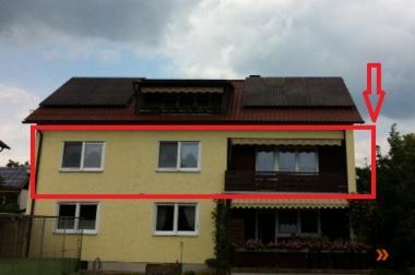 Schöne Wohnung im Einzugsgebiet von Regensburg