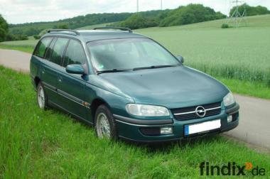 schöner Opel Omega B Caravan CD mit Top Ausstattung - Tüv/AU 06/2
