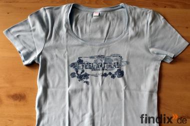 Schönes hellblaues s´Oliver T-Shirt Gr.S