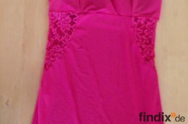 Schönes pinkes Kleid Gr.S