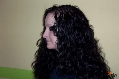Schönheit in Haare flechten, wie Cornrows, Rasta usw.