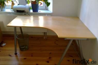 Schreibtisch Galant günstig an Selbstabholer