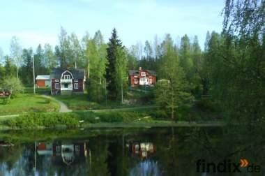 schweden ferienhaus am see  für naturliebhaber fam